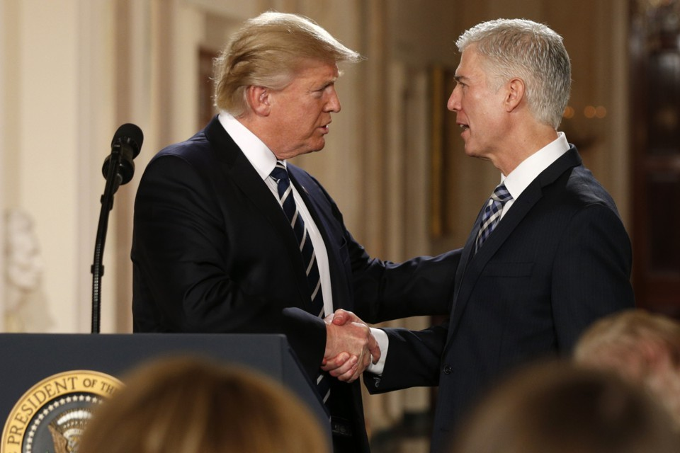Statement on the nomination of Judge Neil Gorsuch
