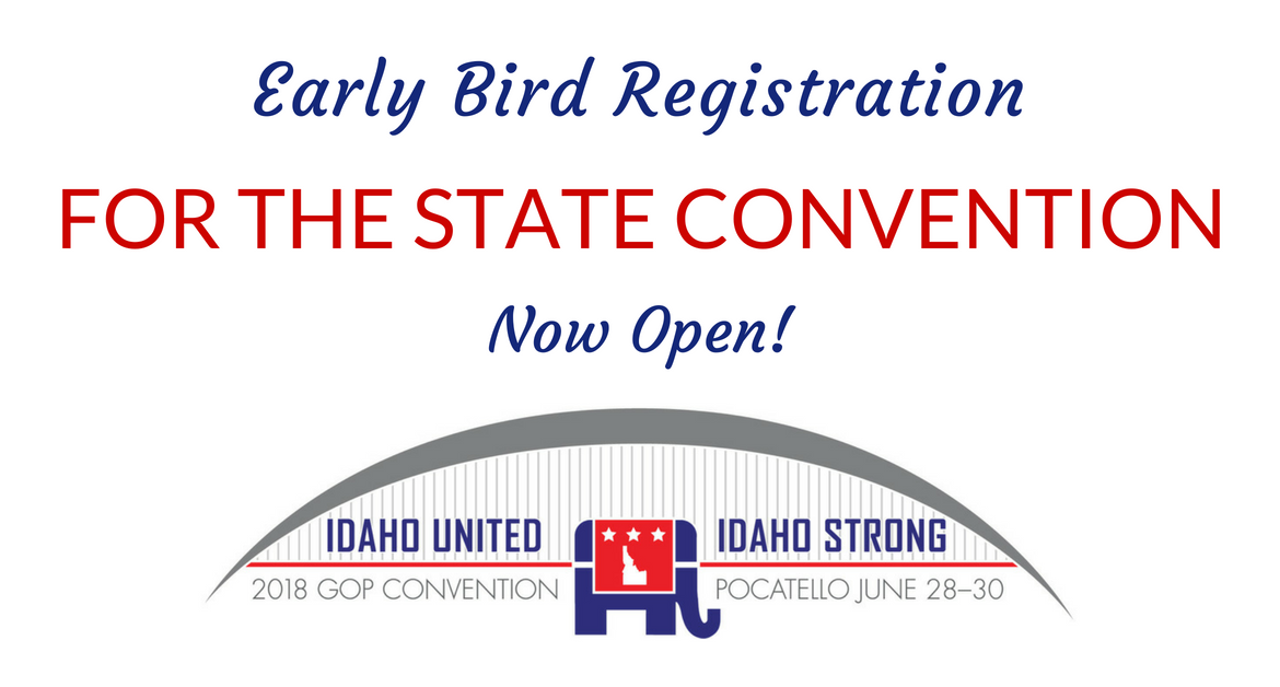Early Bird Registration for the State Convention is Now Open!