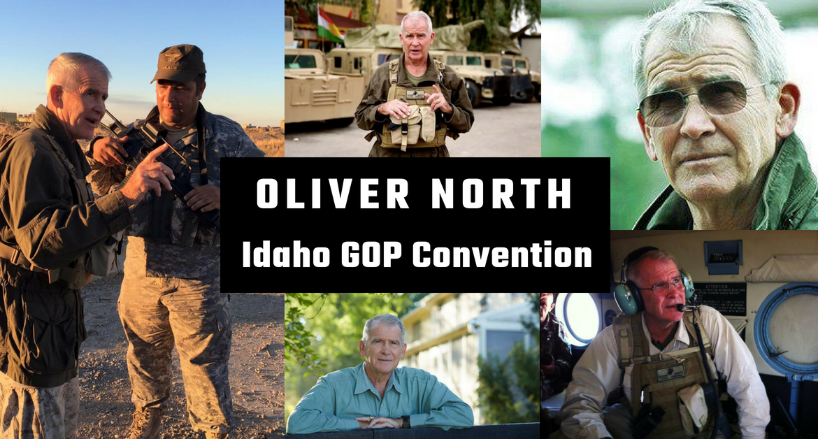 Lt. Col. Oliver North, USMC (Ret.), incoming president of the National Rifle Association, to speak at state GOP convention June 29