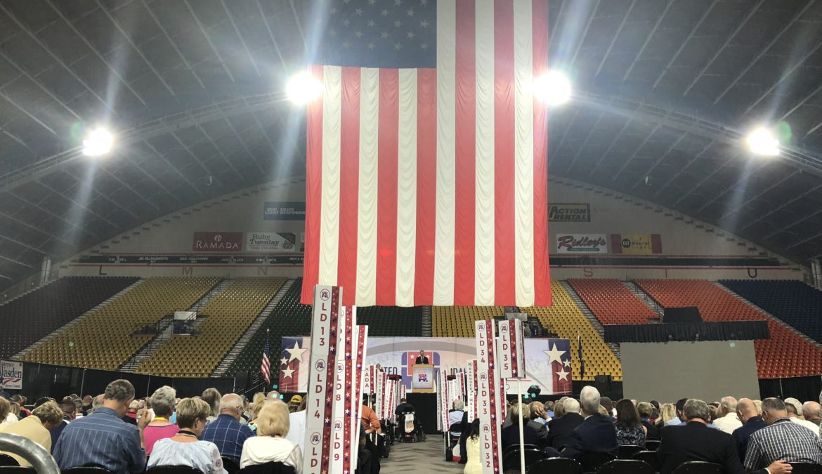 Republicans close out convention ready to take their message of Idaho Values to the voters