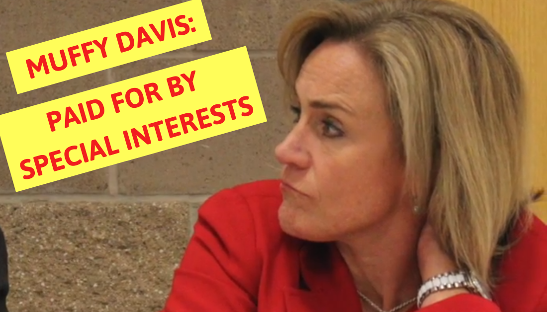 Muffy Davis: In the Pocket of Left-Wing Special Interests